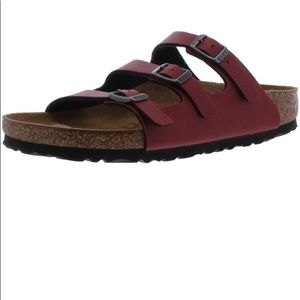 Betula by Birkenstock Burgundy Florida Fresh Slide